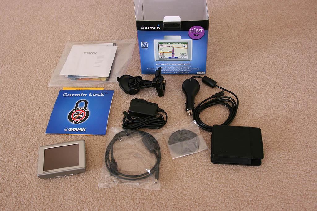 Unbox Gadget Review: Garmin Nuvi 360 GPS